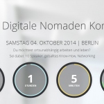 Digitale Nomaden Konferenz DNX am SA 4.10.2014 in Berlin