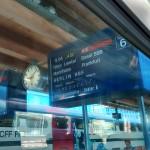 Ein Tag im Zug, Bern ab um 9 Uhr