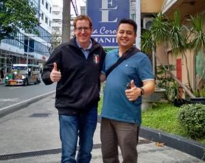 Meeting mit Freelancer Michael in Manila