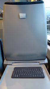 Bloggen im Zug