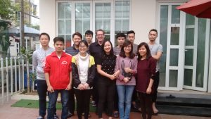 Meeting mit der IT-Firma in Hanoi, Vietnam