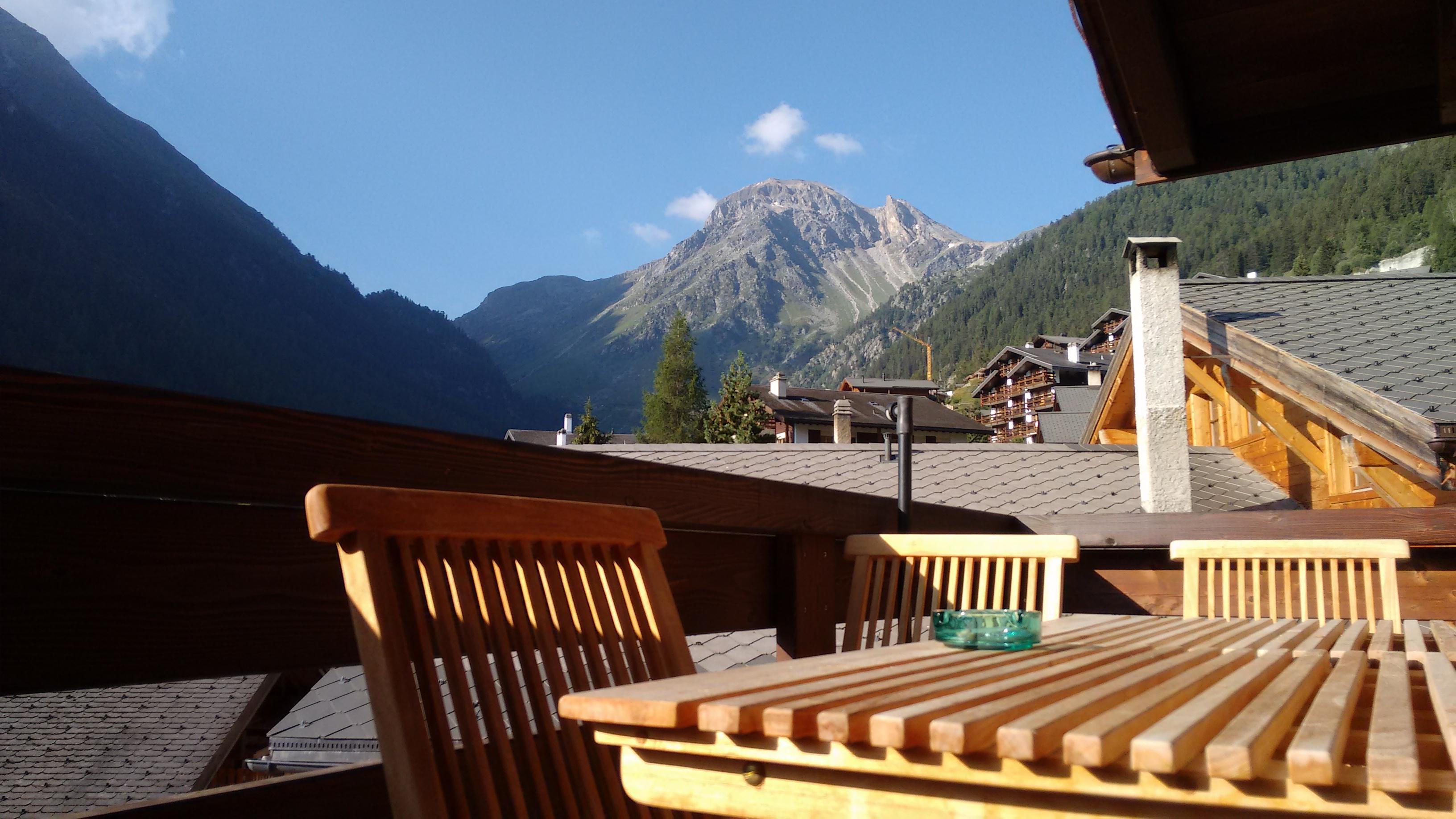 Terrasse des Swiss Escape