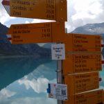 Wanderungen am Lac Moiry