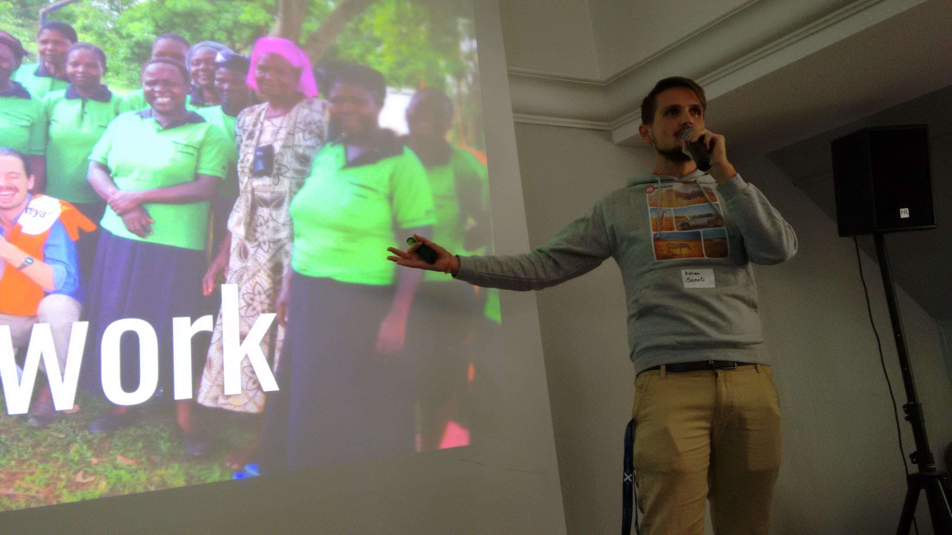 Speaker Adrian Sameli